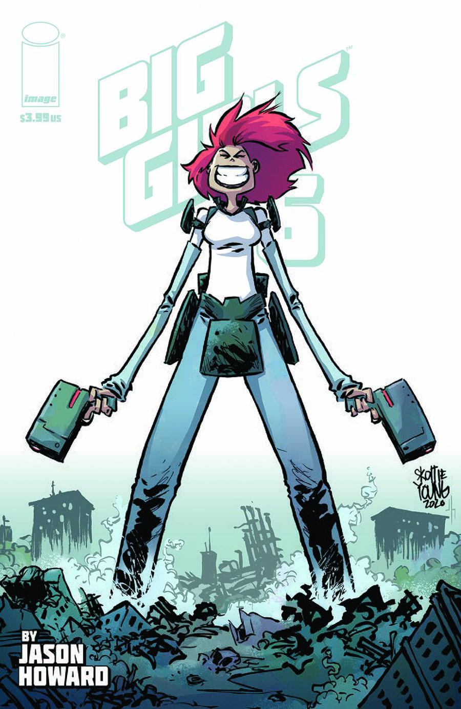 Big Girls #6 Cover B Variant Skottie Young Cover