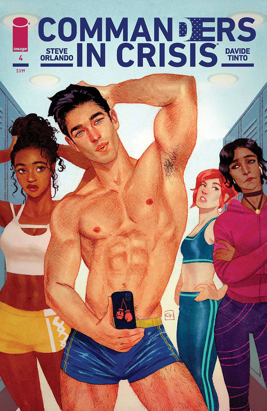 Commanders In Crisis #4 Cover B Variant Kevin Wada Cover