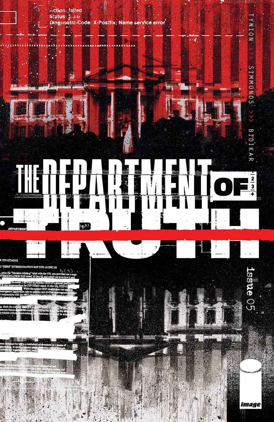 Department Of Truth #5 Cover A Regular Martin Simmonds Cover