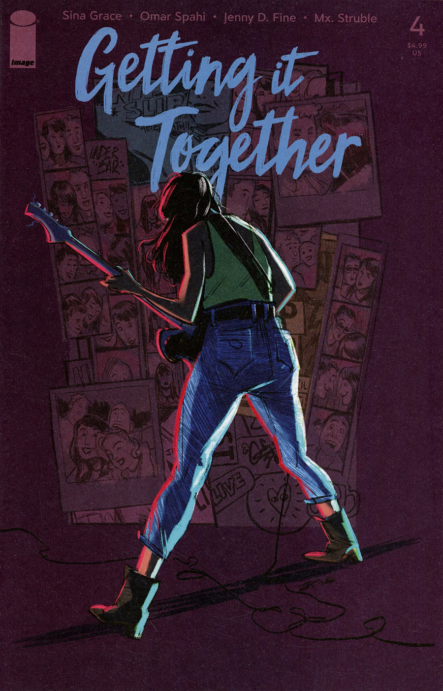 Getting It Together #4 Cover A Regular Jenny Fine Cover