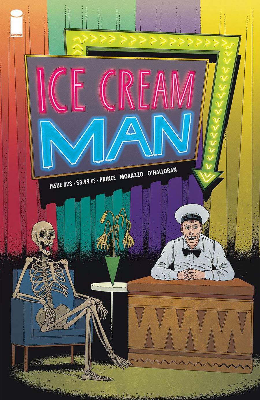 Ice Cream Man #23 Cover A Regular Martin Morazzo & Chris OHalloran Cover
