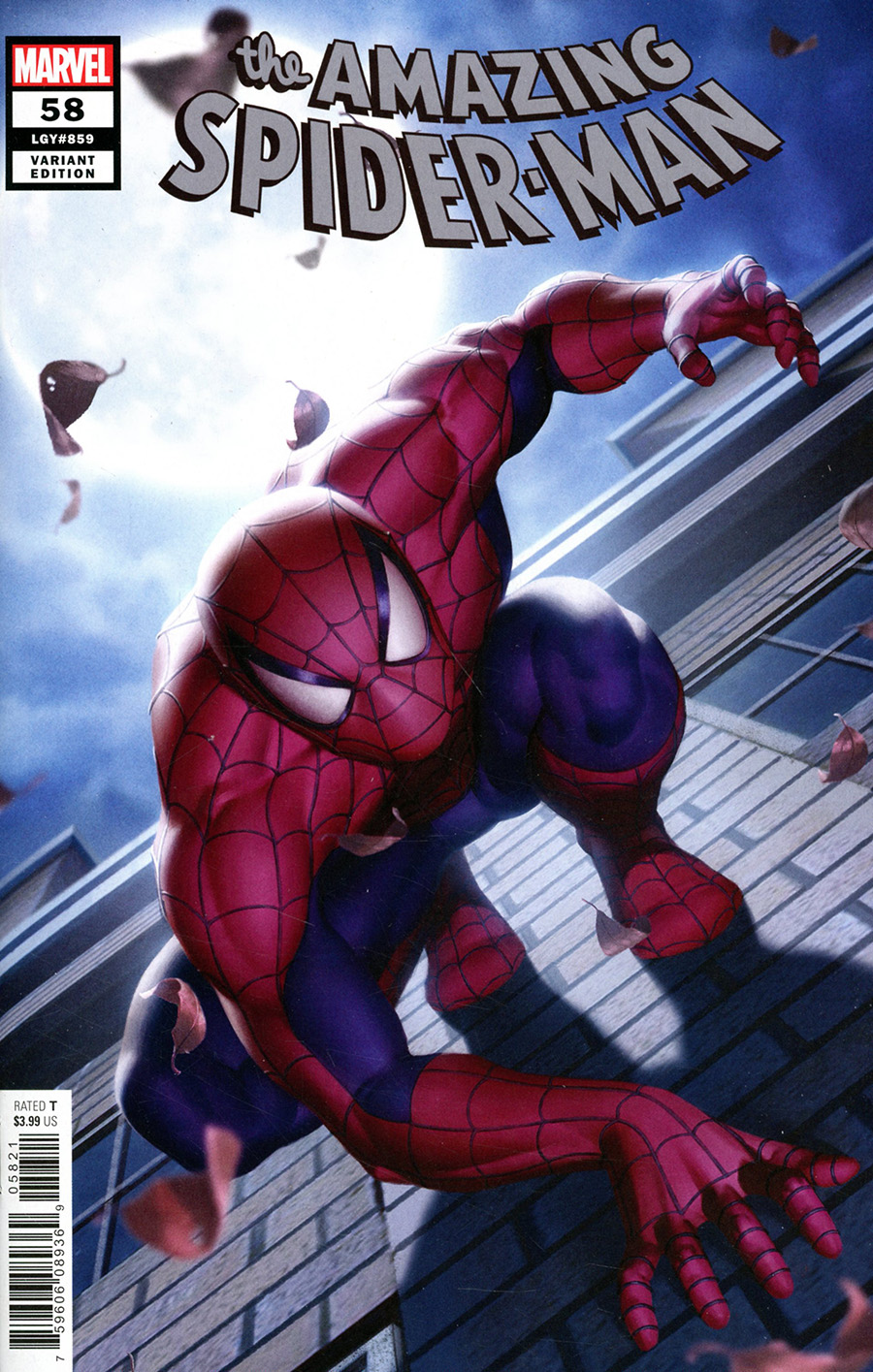Amazing Spider-Man Vol 5 #58 Cover B Variant Junggeun Yoon Cover