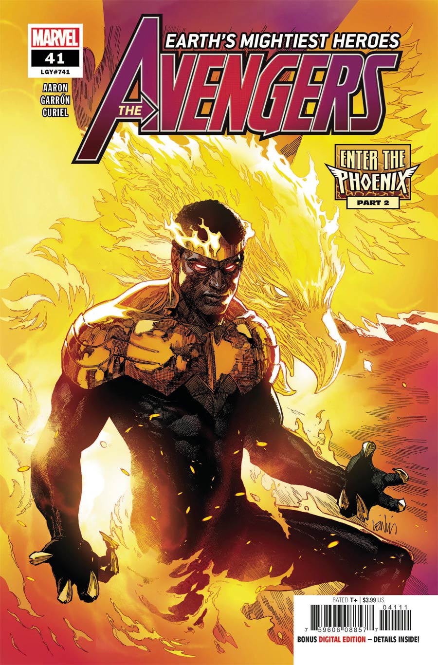 Avengers Vol 7 #41 Cover A Regular Leinil Francis Yu Cover (Limit 1 Per Customer)