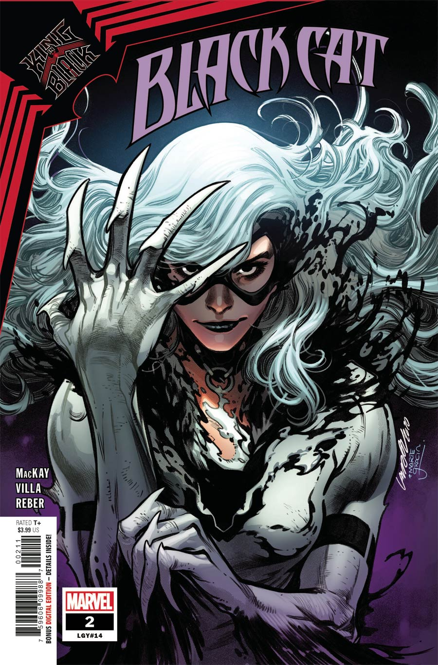 Black Cat Vol 2 #2 Cover A Regular Pepe Larraz Cover (King In Black Tie-In)