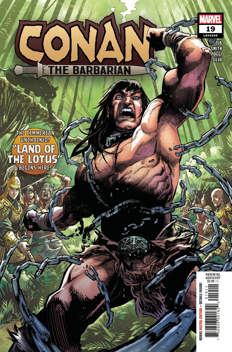 Conan The Barbarian Vol 4 #19 Cover A Regular Geoff Shaw Cover