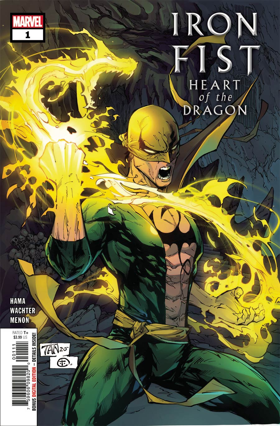 Iron Fist Heart Of The Dragon #1 Cover A Regular Billy Tan Cover (Limit 1 Per Customer)