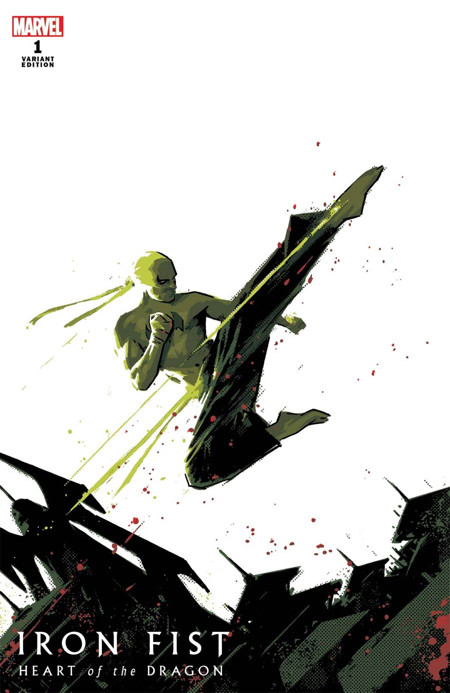 Iron Fist Heart Of The Dragon #1 Cover C Variant David Aja Cover