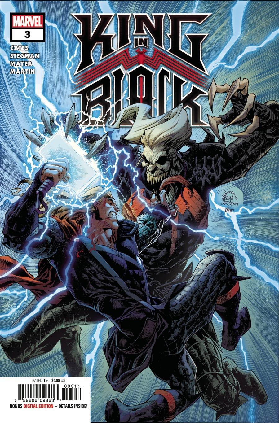 King In Black #3 Cover A Regular Ryan Stegman Cover