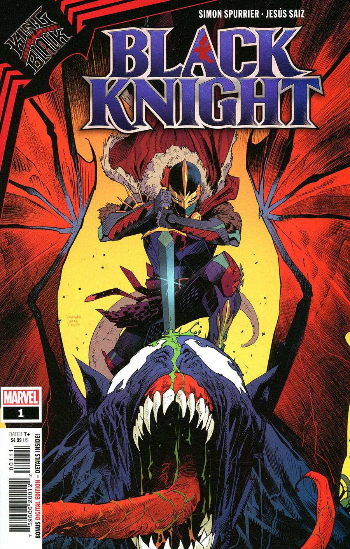 King In Black Black Knight One Shot Cover A Regular Dan Mora Cover