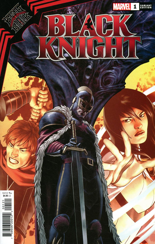 King In Black Black Knight One Shot Cover B Variant Jesus Saiz Cover