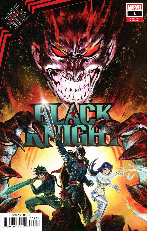 King In Black Black Knight One Shot Cover C Variant Benjamin Su Cover