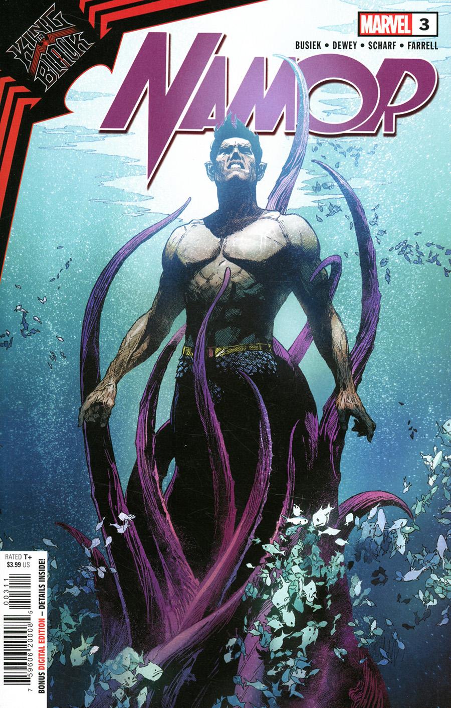 King In Black Namor #3 Cover A Regular Leinil Francis Yu Cover