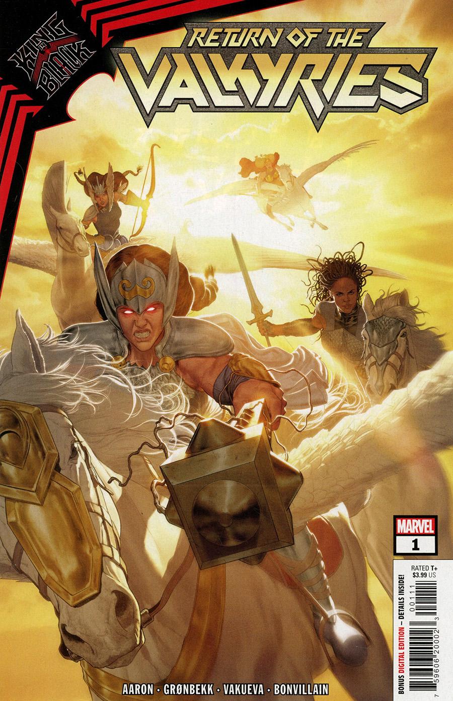 King In Black Return Of The Valkyries #1 Cover A Regular Mattia De Iulis Cover