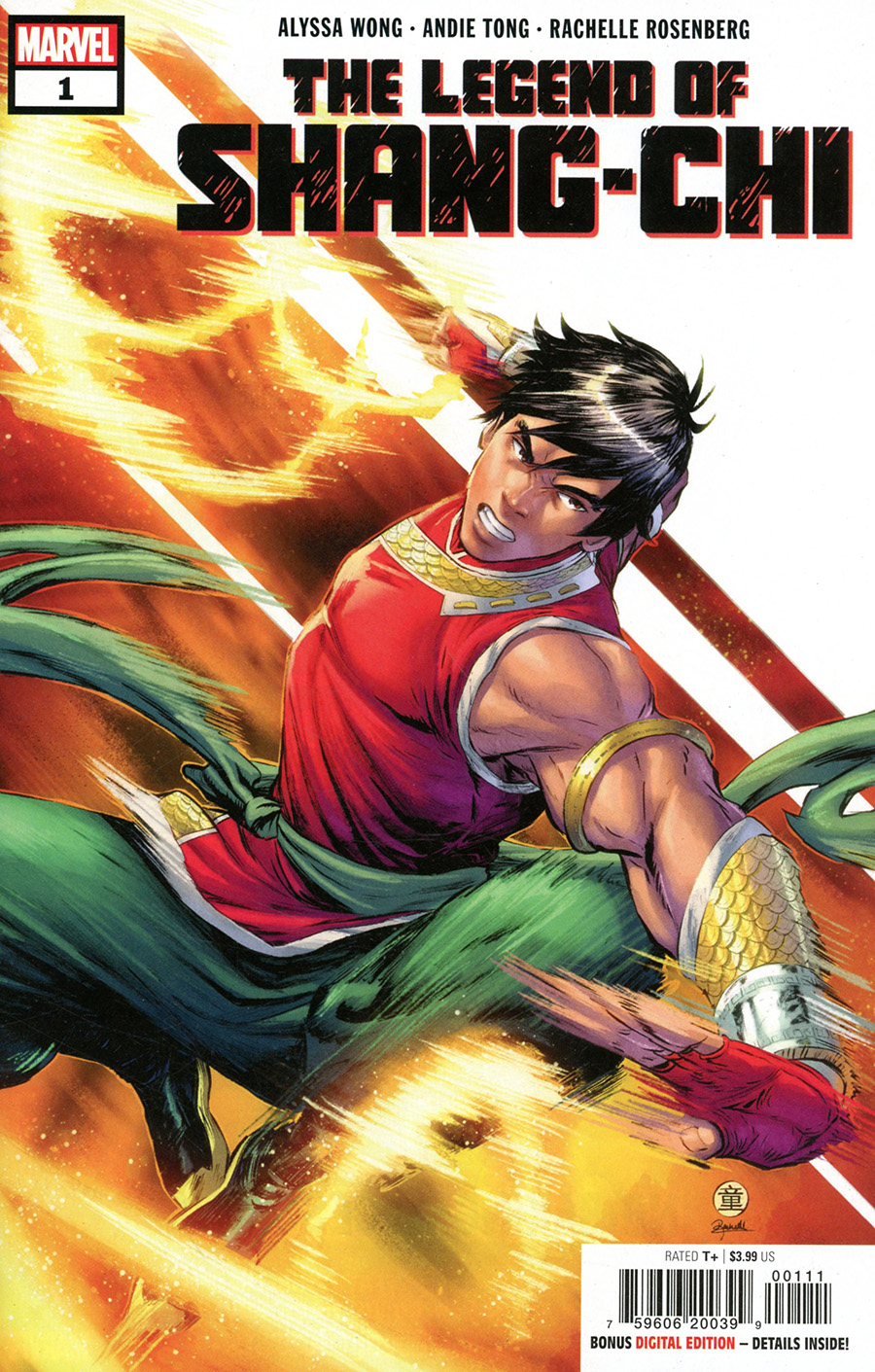 Legend Of Shang-Chi One Shot Cover A Regular Andie Tong Cover
