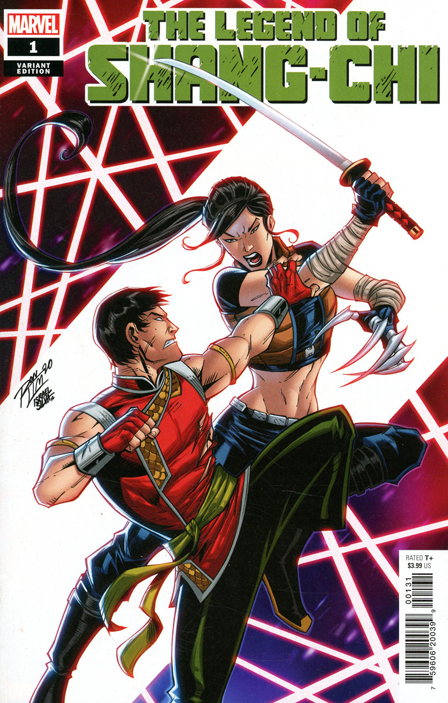 Legend Of Shang-Chi One Shot Cover B Variant Ron Lim Cover