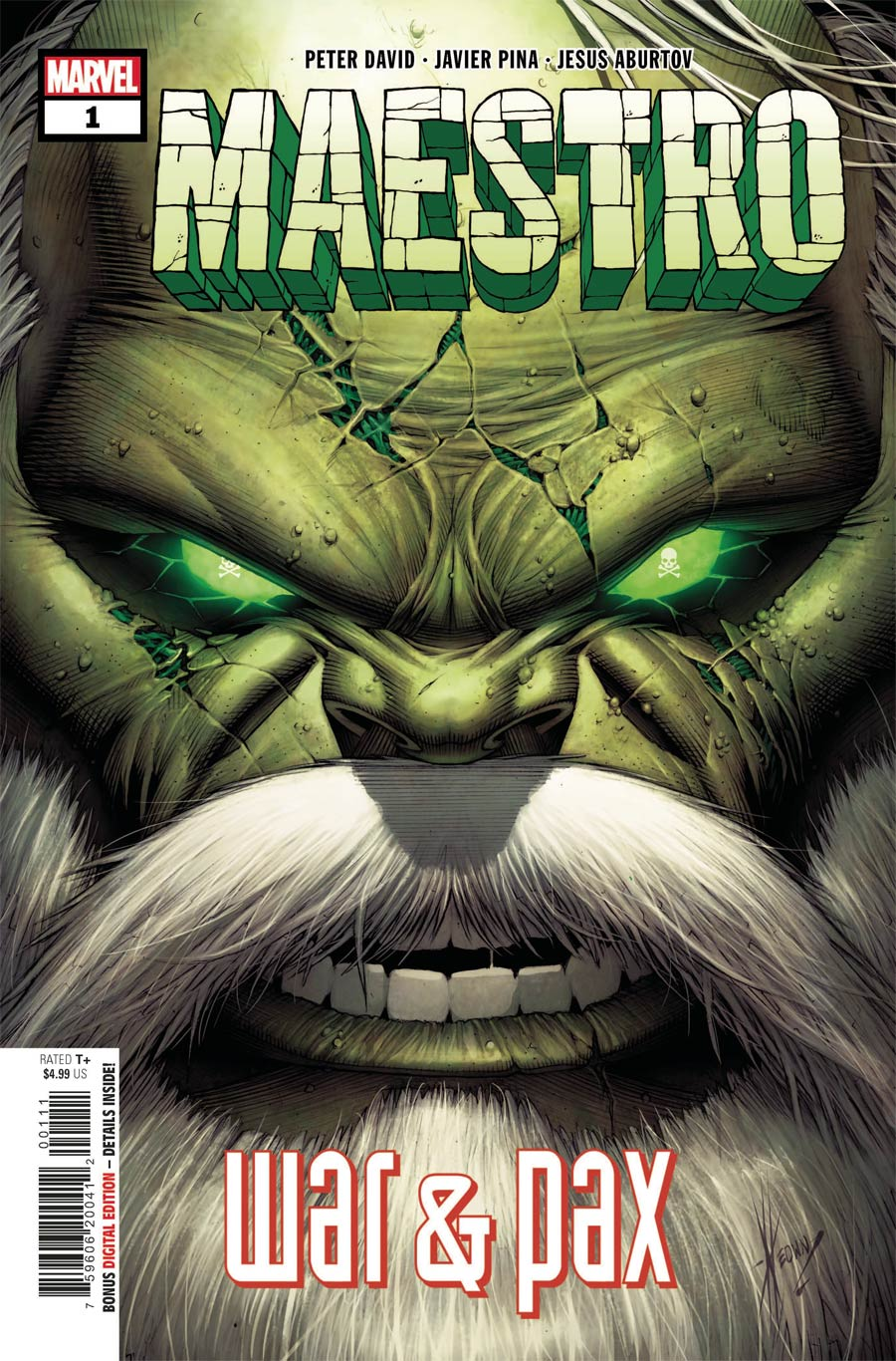 Maestro War And Pax #1 Cover A Regular Dale Keown Cover (Limit 1 Per Customer)