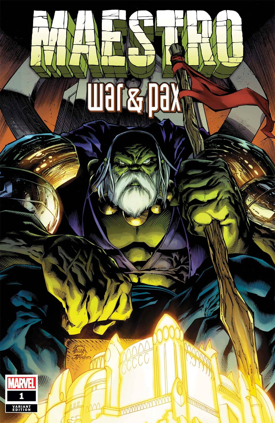 Maestro War And Pax #1 Cover B Variant Ryan Stegman Cover