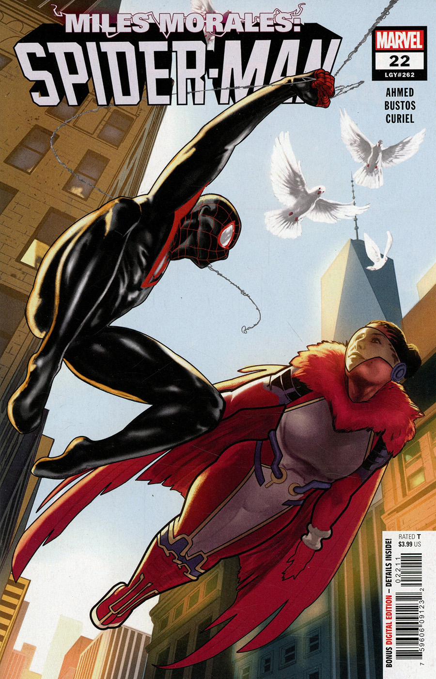 Miles Morales Spider-Man #22 Cover A Regular Taurin Clarke Cover
