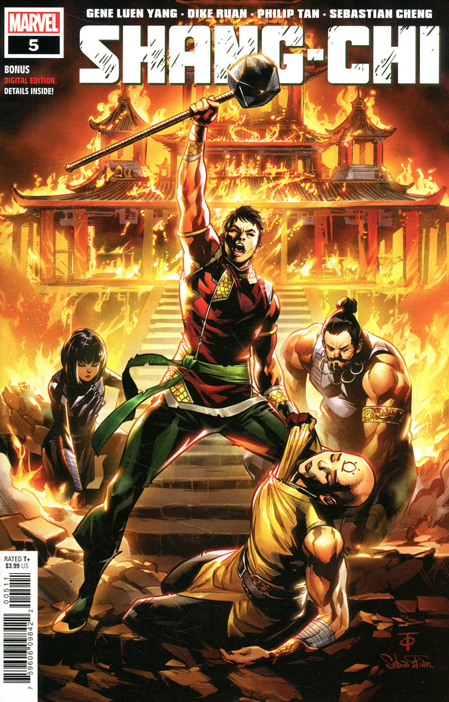 Shang-Chi #5 Cover A Regular Marcus To Cover