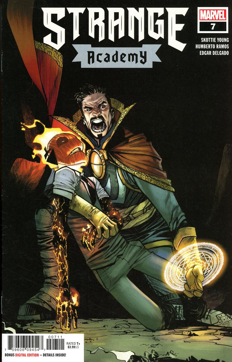 Strange Academy #7 Cover A Regular Humberto Ramos Cover