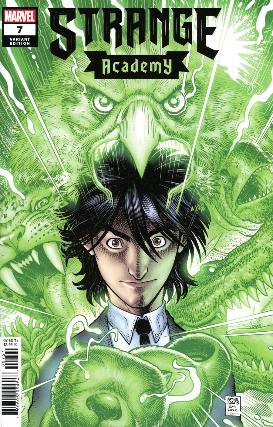 Strange Academy #7 Cover B Variant Arthur Adams Character Spotlight Cover