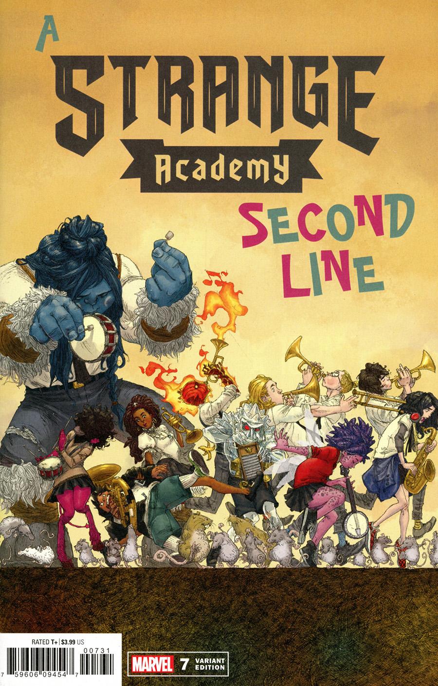 Strange Academy #7 Cover C Variant Adrian Alphona Cover (Limit 1 Per Customer)