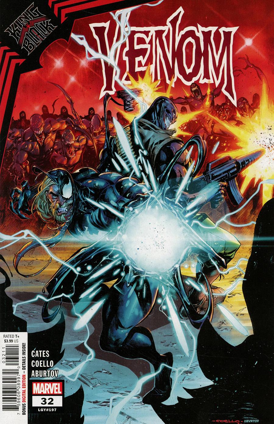 Venom Vol 4 #32 Cover A Regular Iban Coello Cover (King In Black Tie-In)