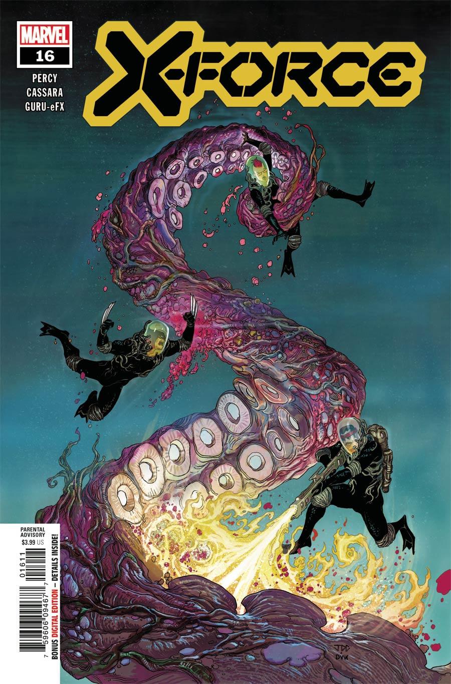 X-Force Vol 6 #16 Cover A Regular Joshua Cassara Cover