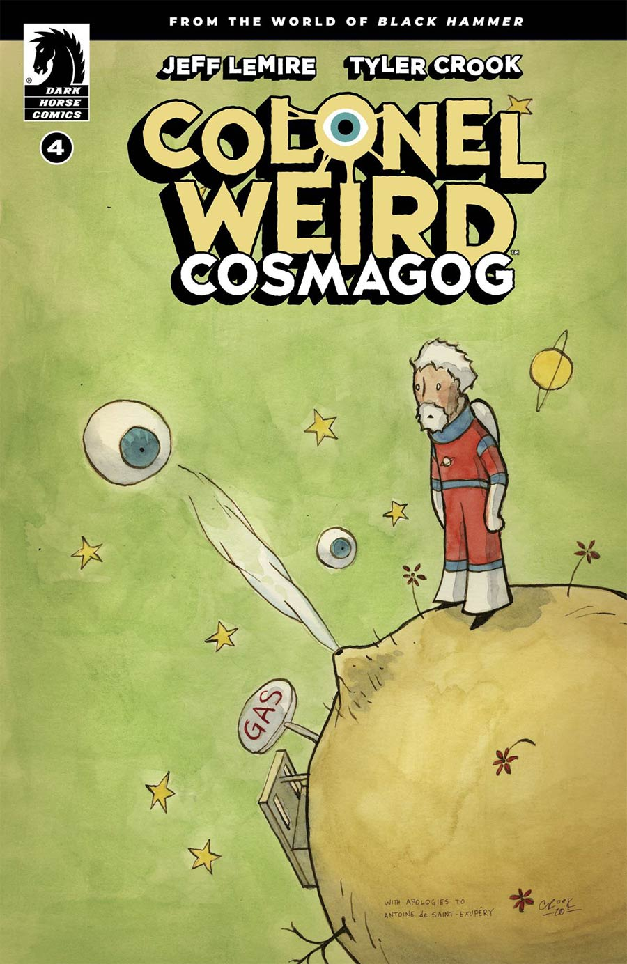Colonel Weird Cosmagog #4 Cover A Regular Tyler Crook Cover
