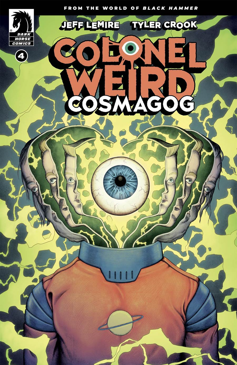 Colonel Weird Cosmagog #4 Cover B Variant Malachi Ward Cover