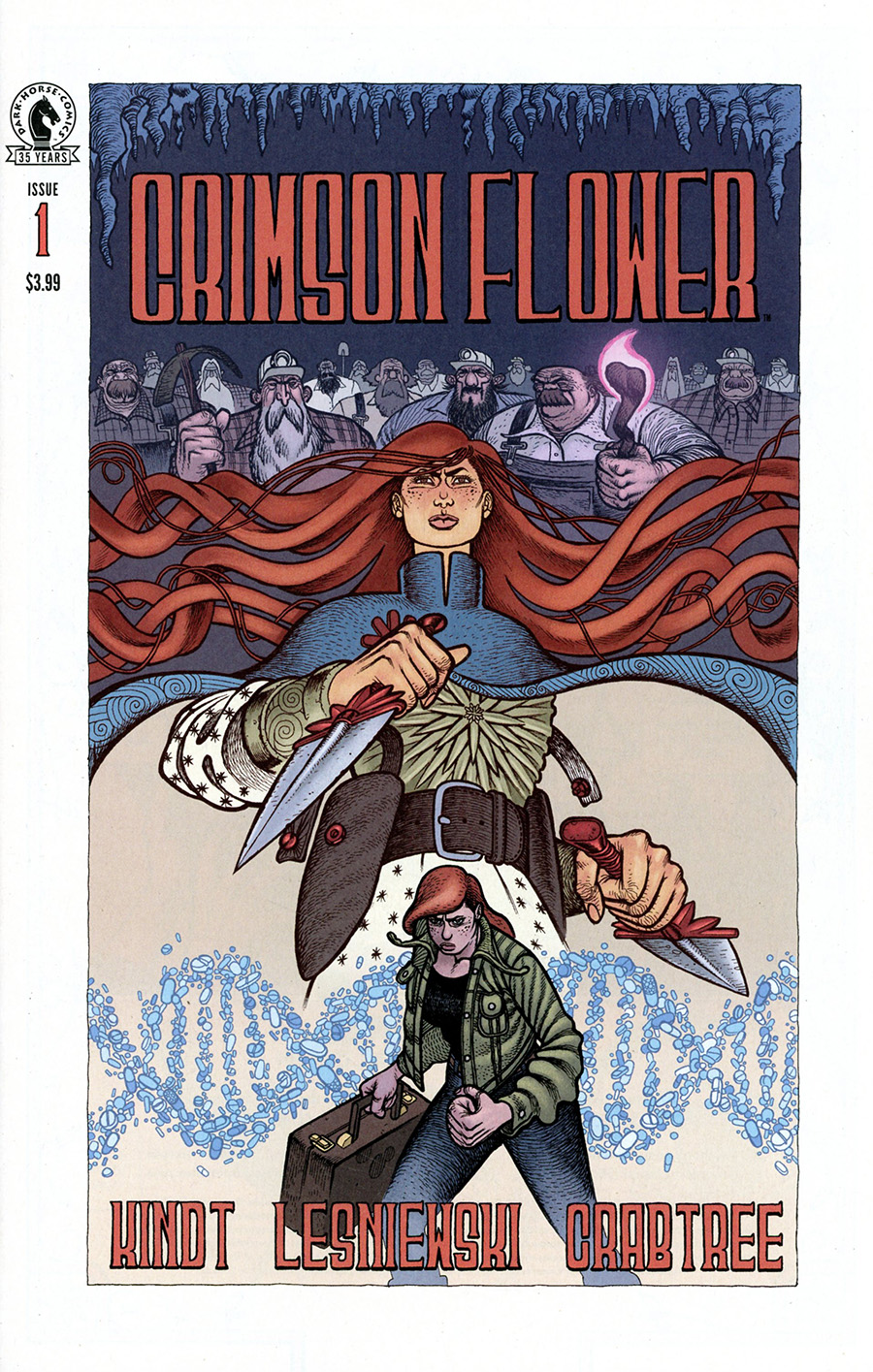 Crimson Flower #1 Cover A Regular Matt Lesniewski Cover