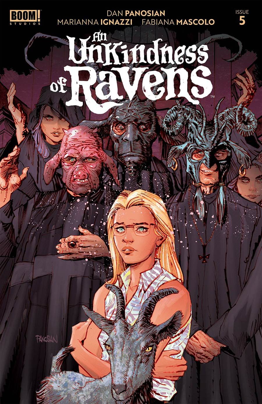 An Unkindness Of Ravens #5 Cover A Regular Dan Panosian Cover