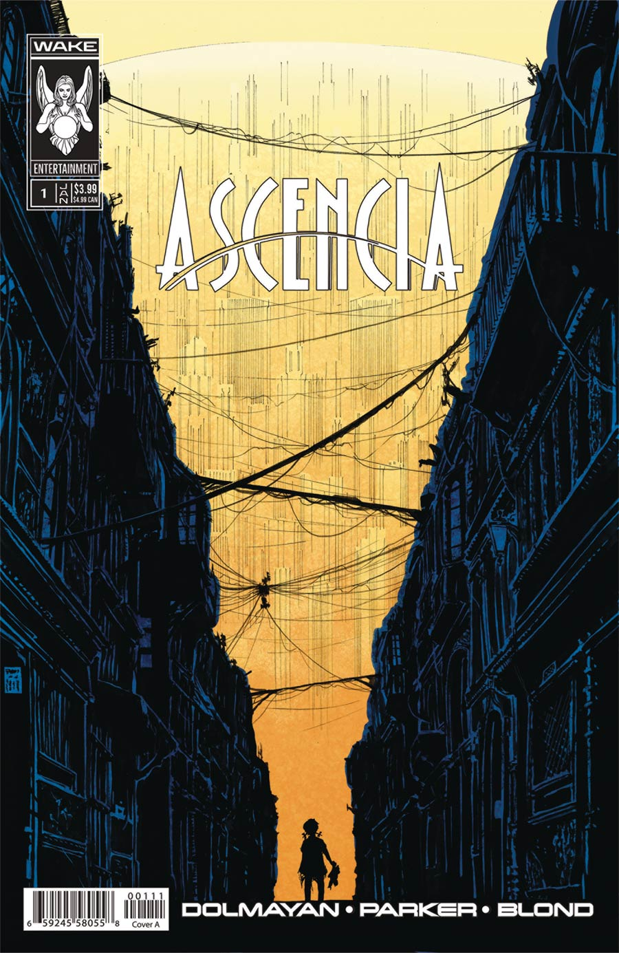 Ascencia #1 Cover A Regular Tony Parker Cover