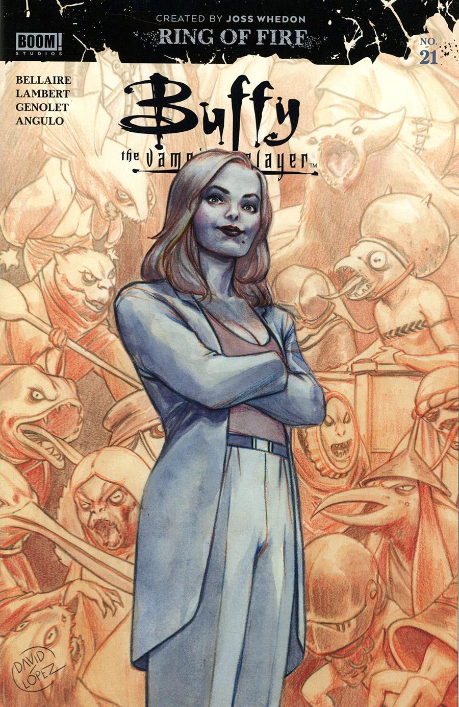 Buffy The Vampire Slayer Vol 2 #21 Cover A Regular David Lopez Cover
