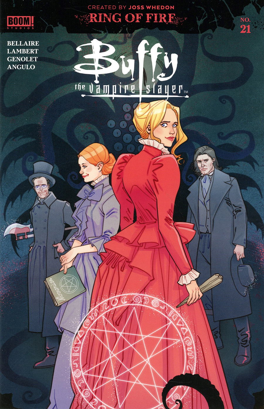 Buffy The Vampire Slayer Vol 2 #21 Cover B Variant Marguerite Sauvage Multiverse Cover