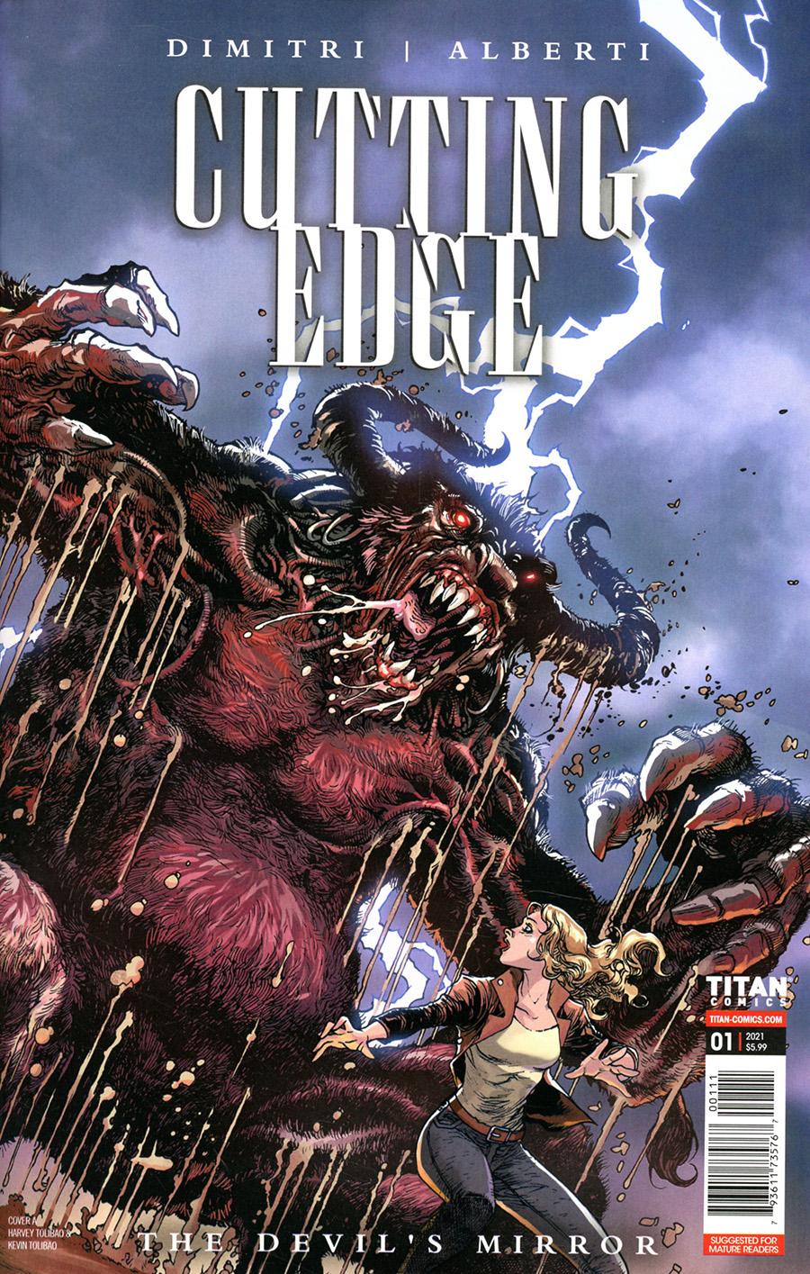 Cutting Edge Devils Mirror #1 Cover A Regular Harvey Tolibao Cover