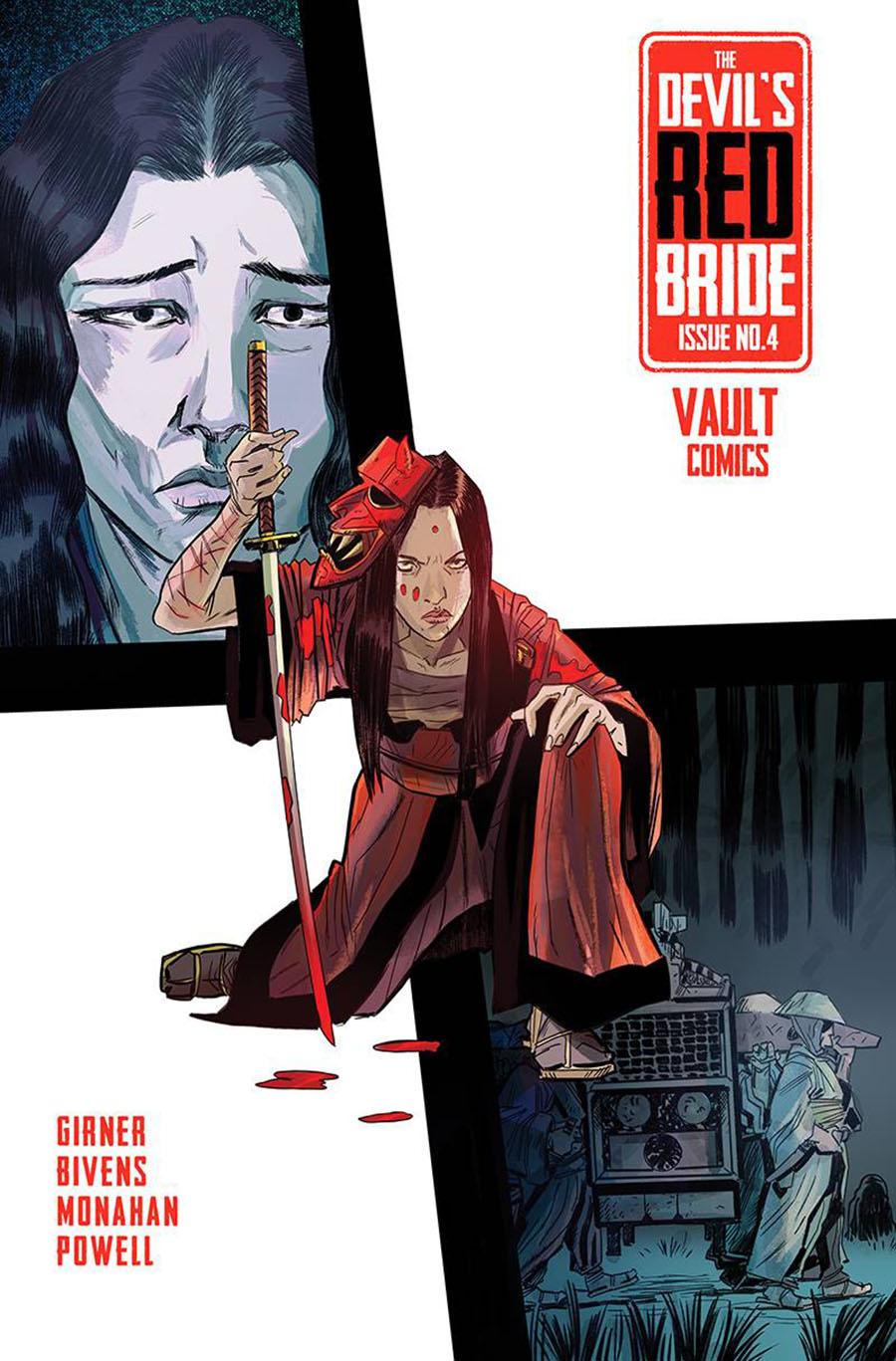Devils Red Bride #4 Cover A Regular John Bivens Cover