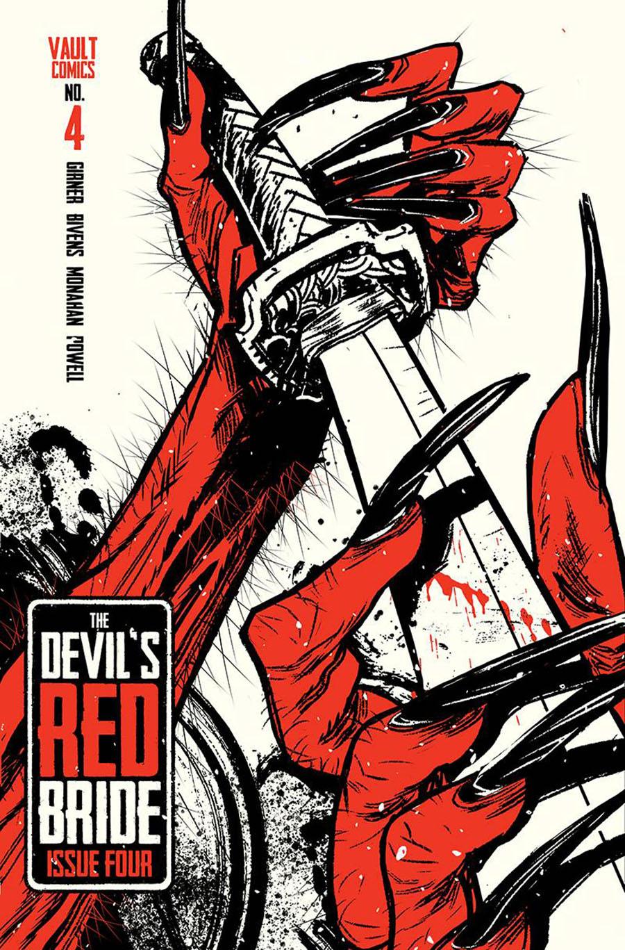 Devils Red Bride #4 Cover B Variant Tim Daniel Cover