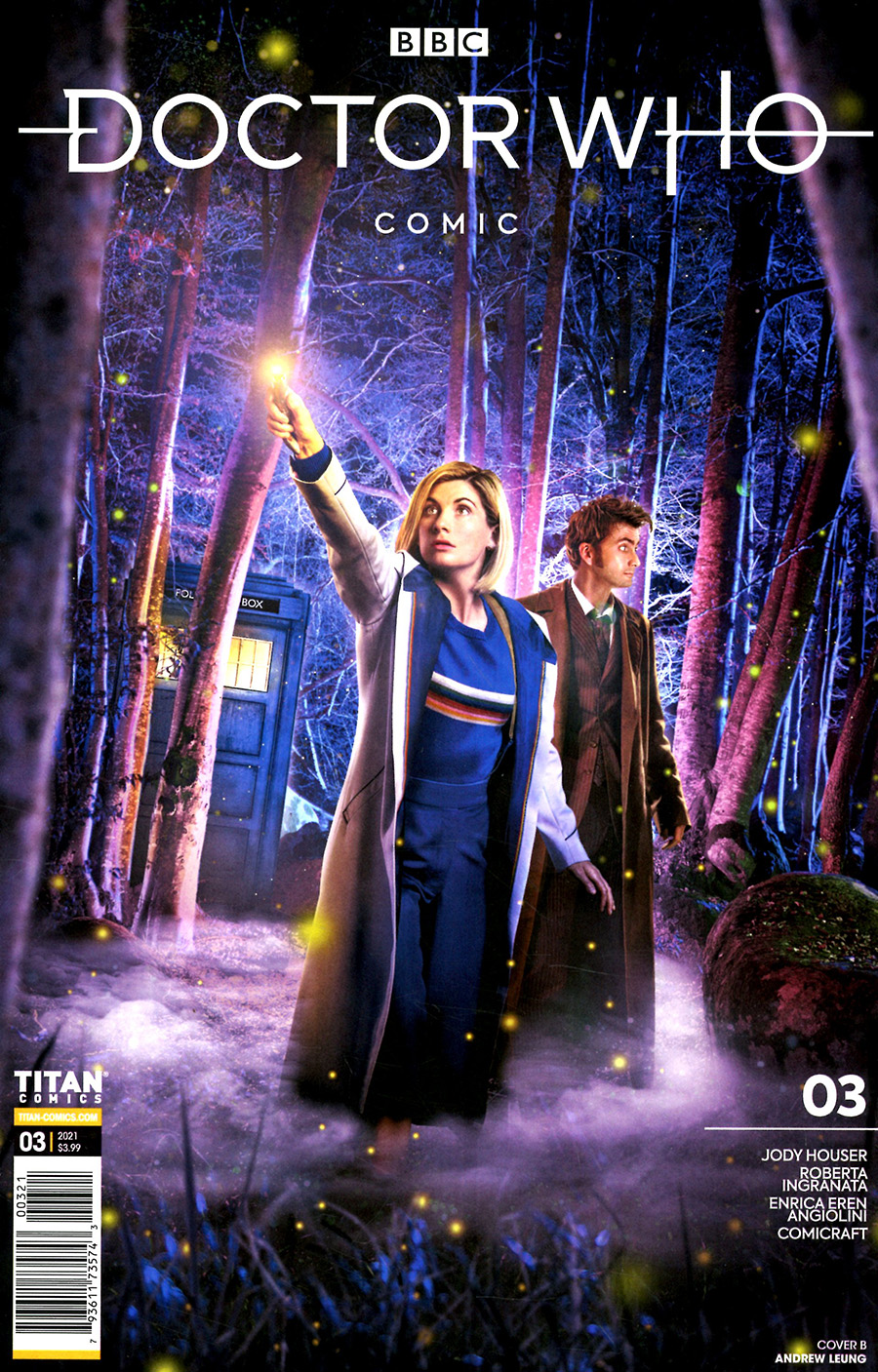 Doctor Who Comic #3 Cover B Variant Photo Cover