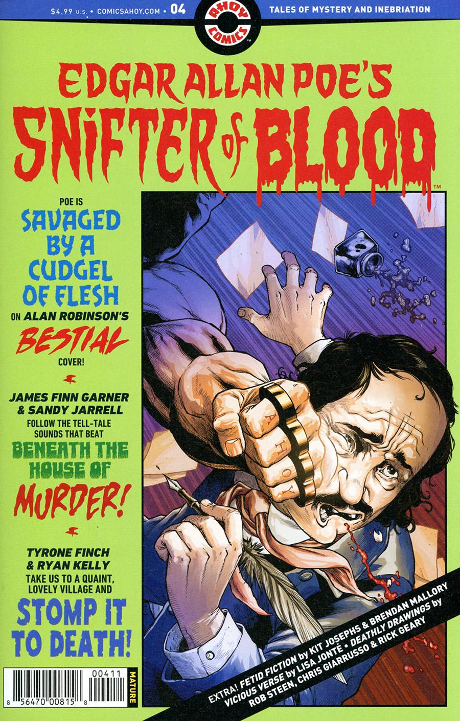 Edgar Allan Poes Snifter Of Blood #4