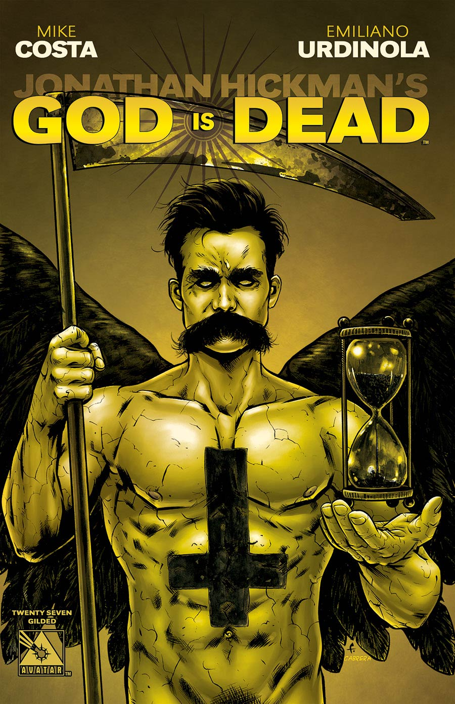 God Is Dead #27 Gilded Cover Sale Edition