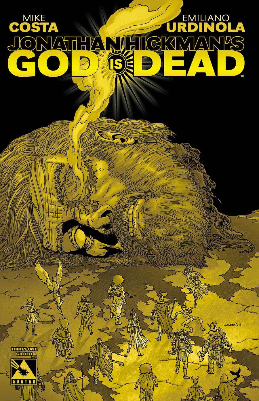 God Is Dead #31 Gilded Cover Sale Edition