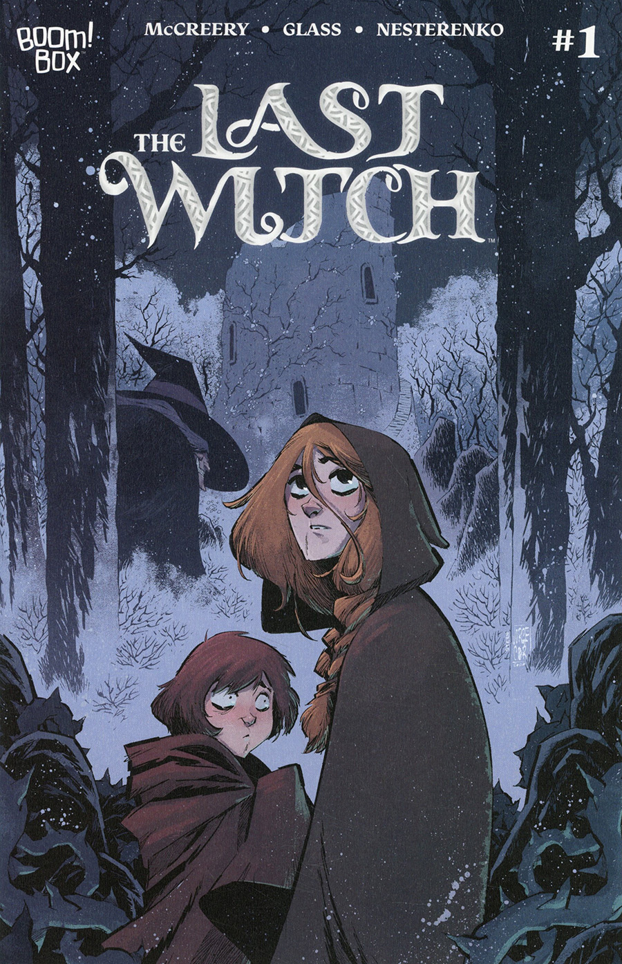 Last Witch #1 Cover B Variant Jorge Corona Cover