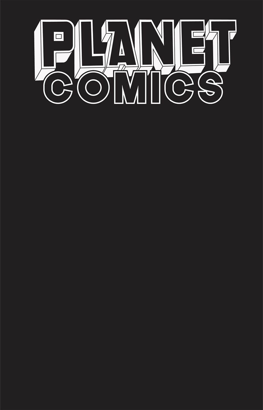 Planet Comics Sketchbook #1 (One Shot) Cover B Black Hole Edition