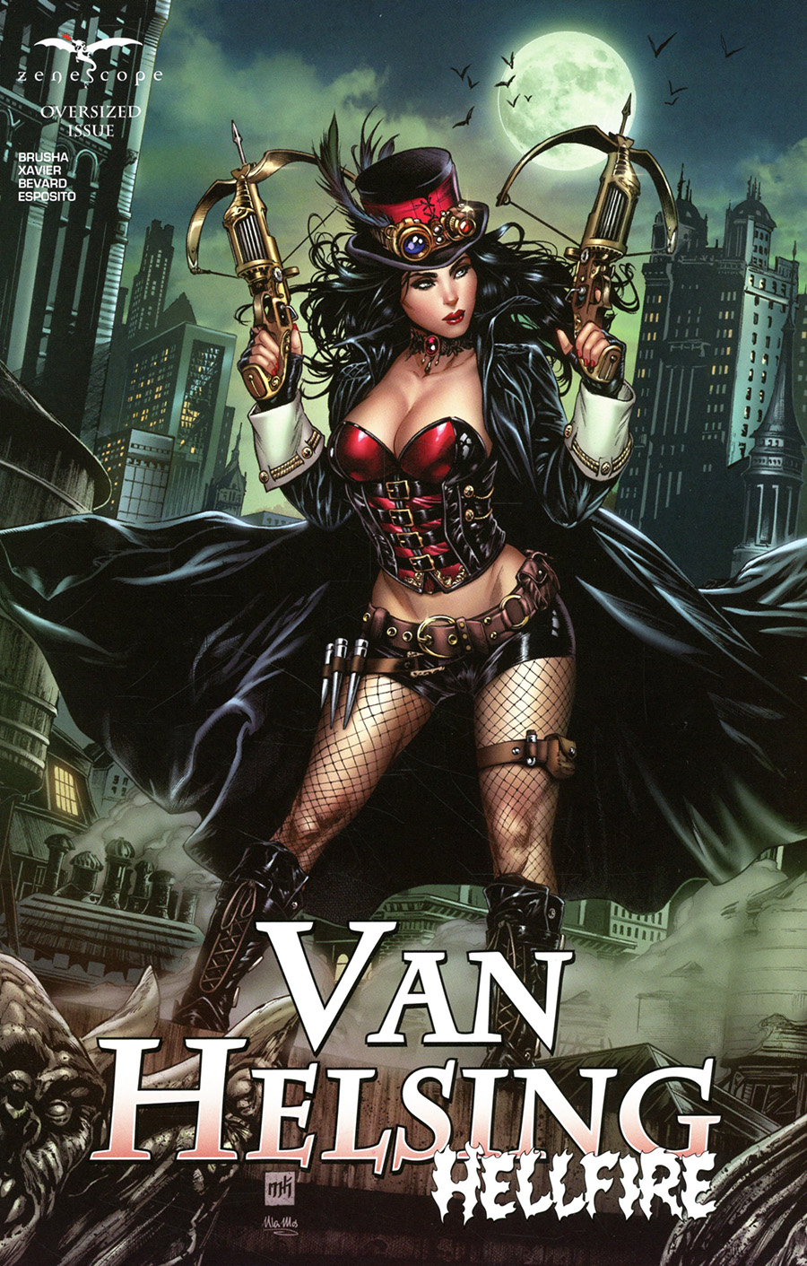 Grimm Fairy Tales Presents Van Helsing Hellfire One Shot Cover C Mike Krome