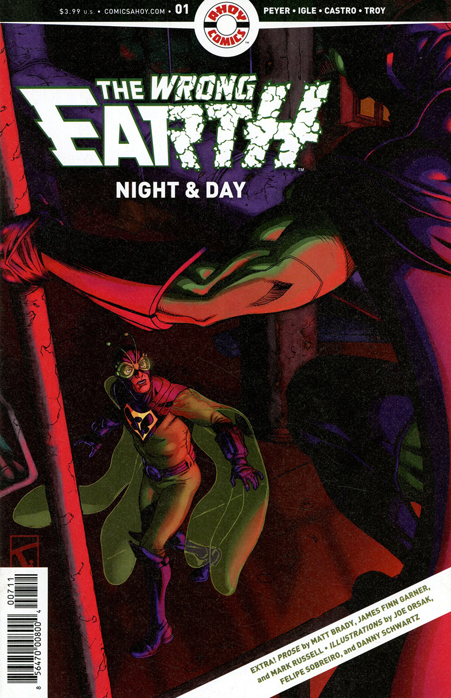 Wrong Earth Night And Day #1