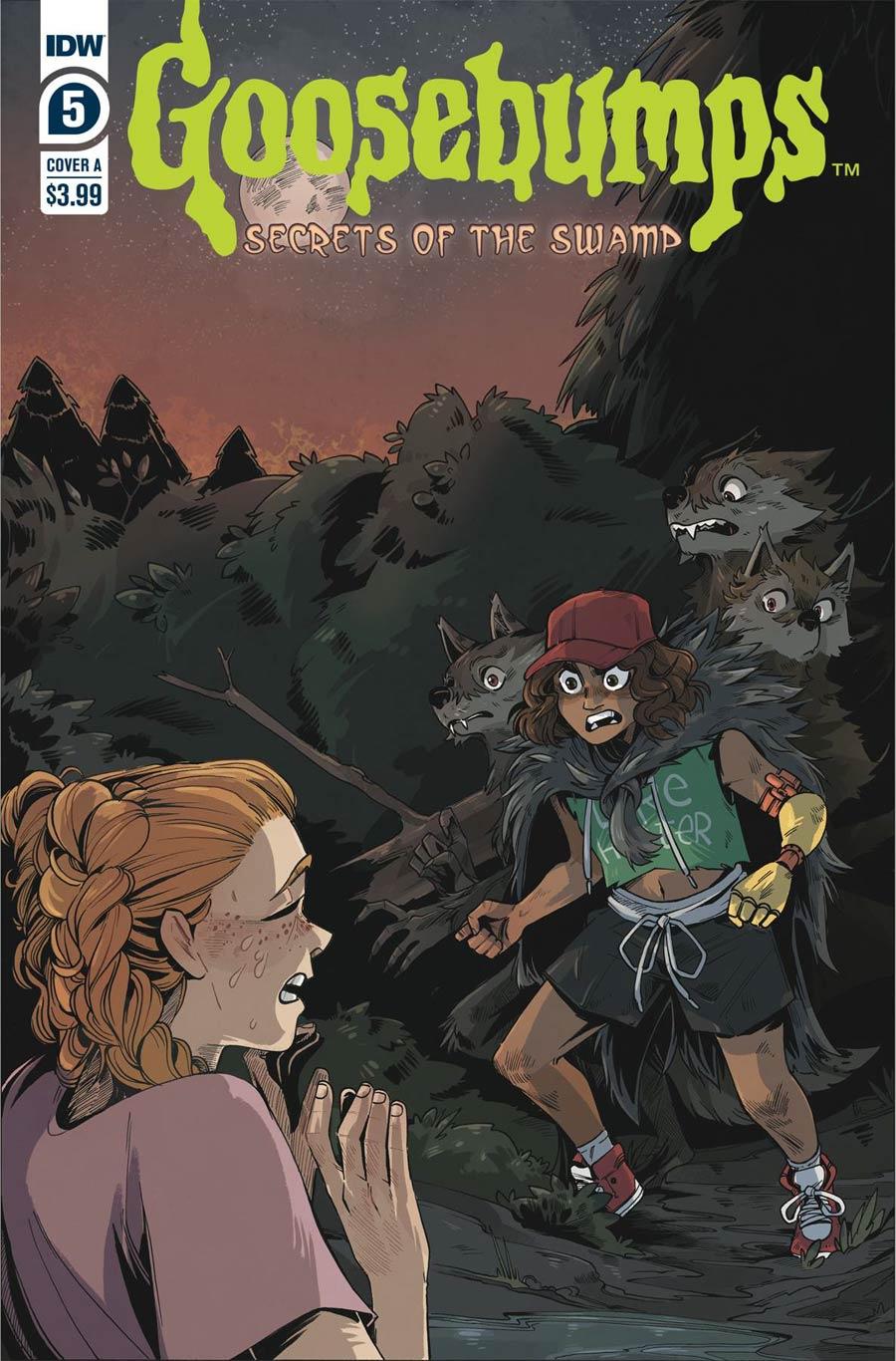 Goosebumps Secrets Of The Swamp #5 Cover A Regular Bill Underwood Cover