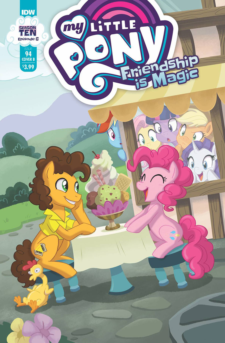 My Little Pony Friendship Is Magic #94 Cover B Variant Brianna Garcia Cover