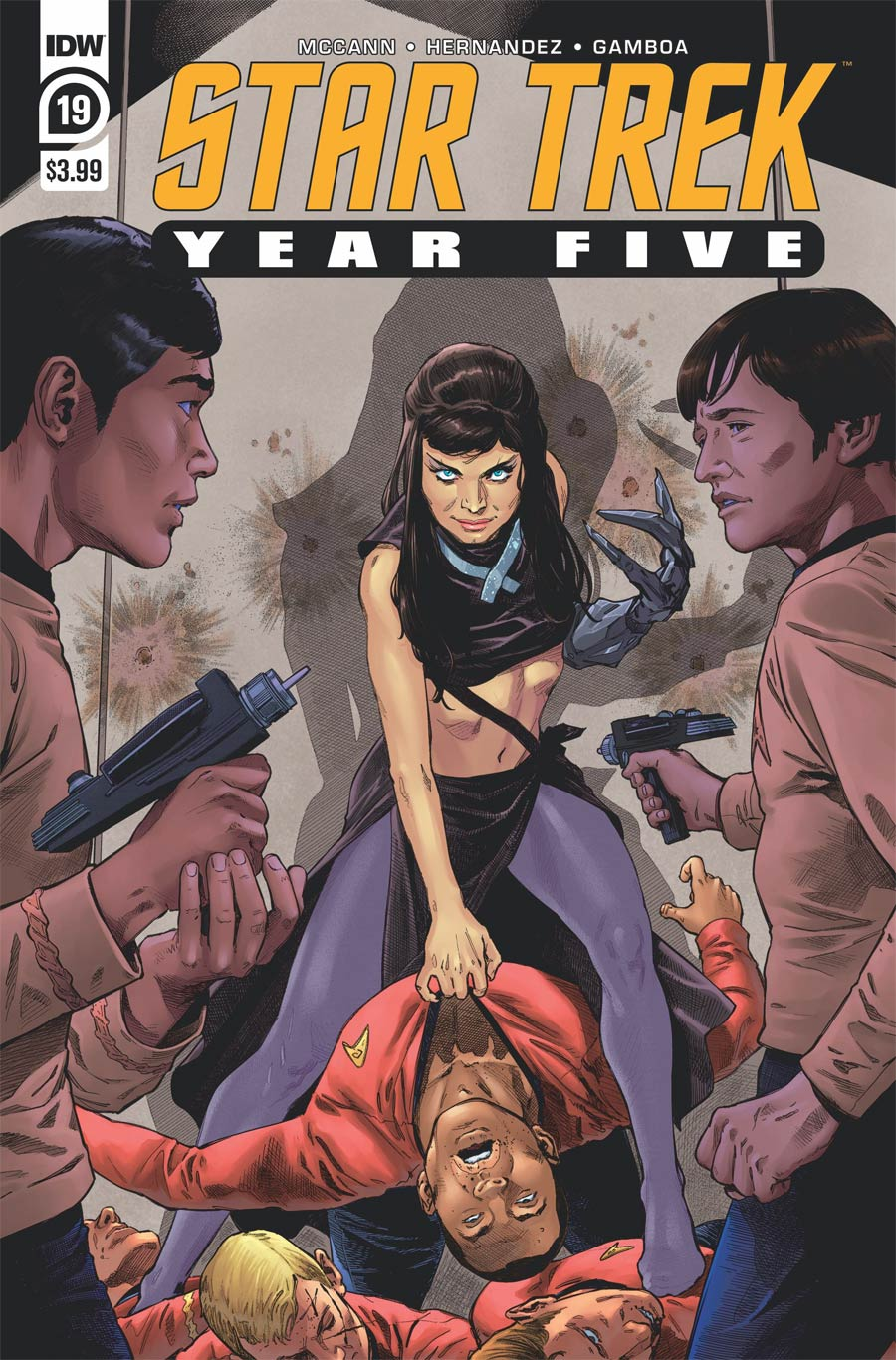 Star Trek Year Five #19 Cover A Regular Stephen Thompson Cover