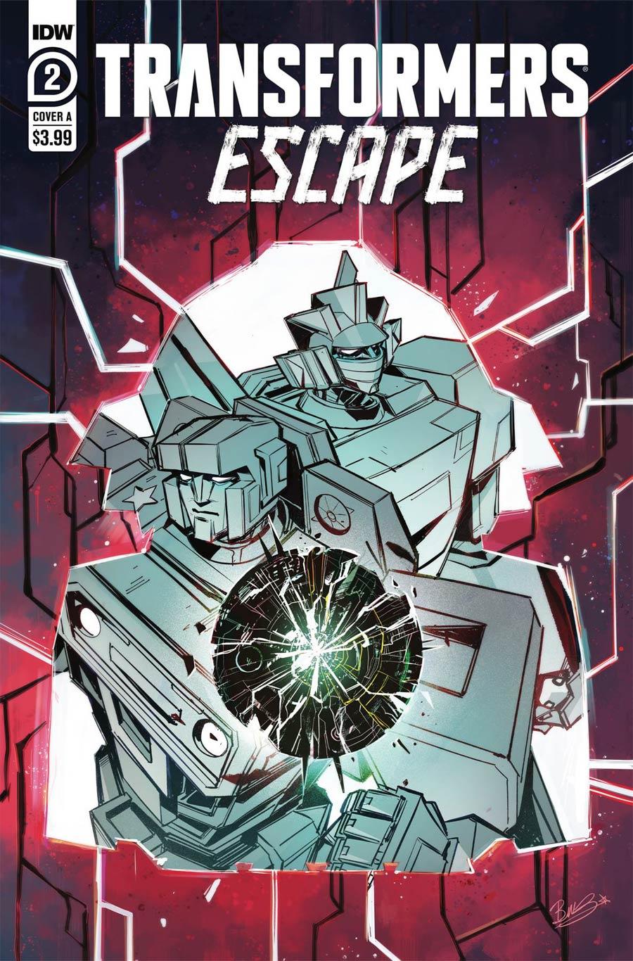 Transformers Escape #2 Cover A Regular Beth McGuire-Smith Cover